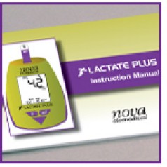 Lactate Plus Meter Instruction for Use Manual